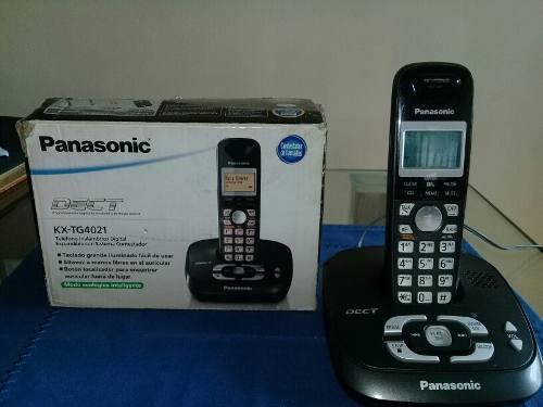 Telefono Inalambrico Panasonic Digital Sistema Contestador