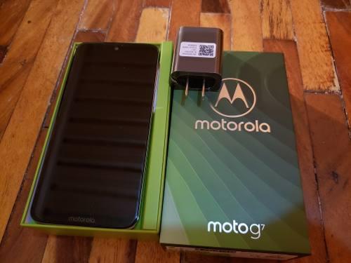 Telefono Motorola Moto G7 2019 Como Nuevo 15 Dias De Uso