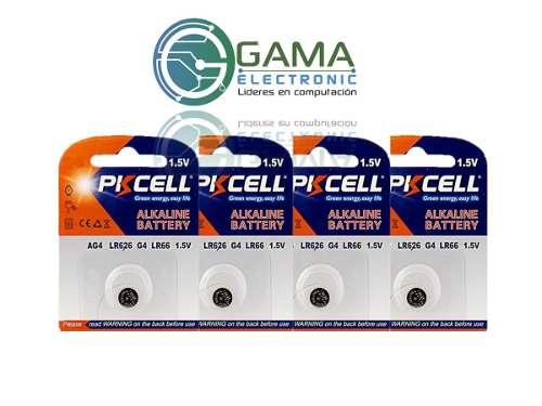 Bateria O Pila Pkcell Ag4 / Lr626 Reloj (4 Unidades)