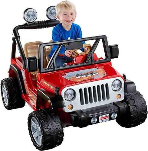 Carro A Bateria, Electrico Fisher-price Jeep Wrangler