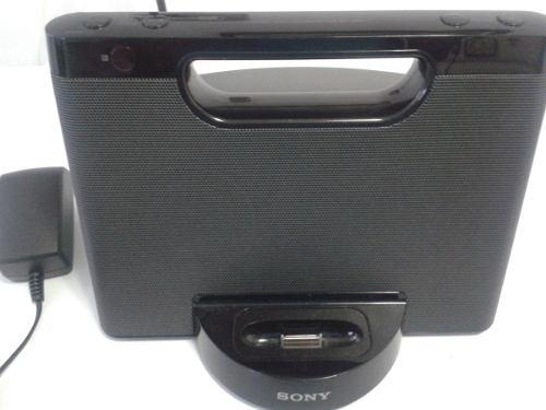 Corneta Base Sony Para iPod Y iPhone Rdp-m5ip