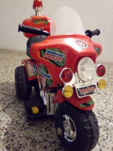 Moto Electrica Con Luces Y Sonido Para Niño