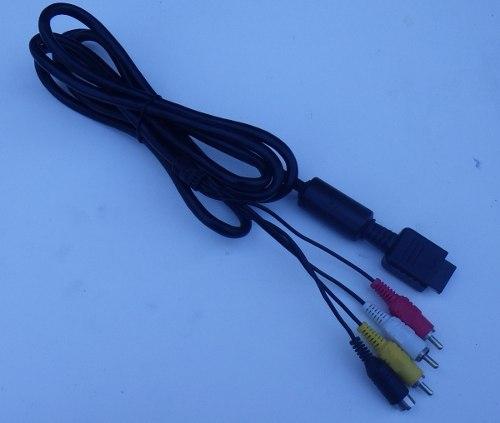 Playstation 2 Y 3 Sony Cable Super Video/audio Y Video