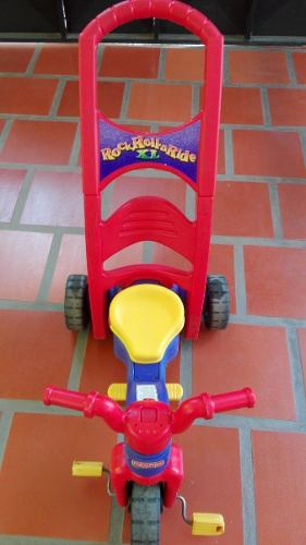 Triciclo Y Mecedora Fisher Price Rock, Roll And Ride
