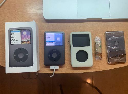 iPod Classic 7g 160gb + Accesorios+ Caja +audifonos + Cable