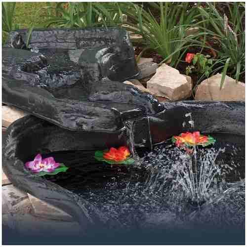 Fuente Armable Para Jardin Capacidad 550 Litros, Hppy Pond 4