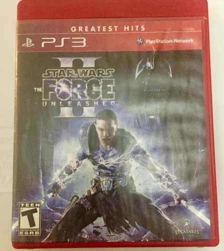 Juego De Ps3 Star Wars The Force Unleashed 2