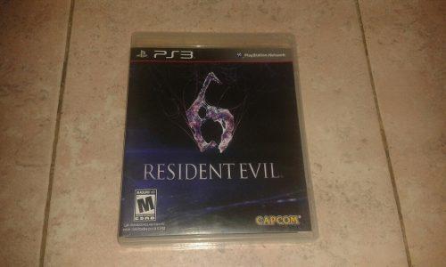 Juego Original De Resident Evil 6 En Español Para Play 3