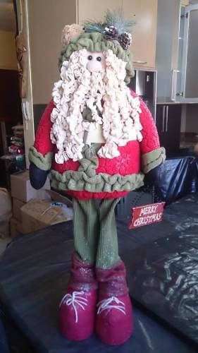Muñeco De Navidad Para Decorar Casa