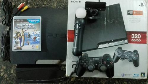 Playstation 3 De 320 Gb, En Su Caja Como Nuevo