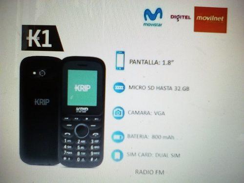 Telefono Basico Krip K1 Super Promocion Del Dia De Las Madre