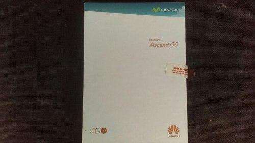Telefono Huawei Ascend G6 4g Lte Nuevo