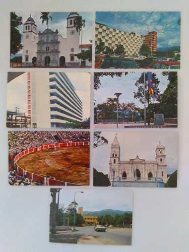 2 Postales De Venezuela Antiguas De San Cristobal Y Coro
