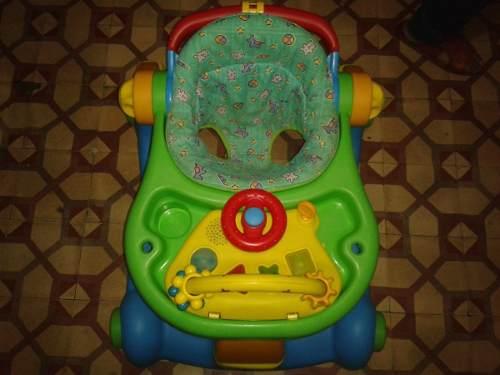 Andadera Multifuncional 3 En 1 Para Bebes Masterkids Usado
