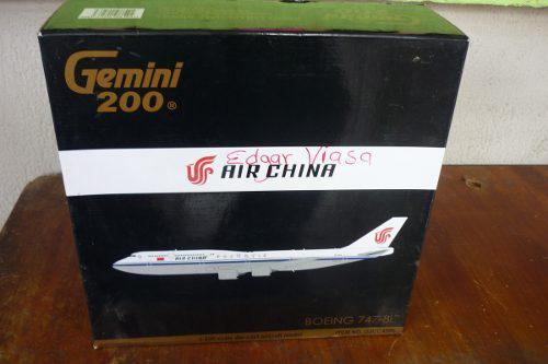 Avion A Escala 1-200 Geminijets Boeing 747-8i Air India