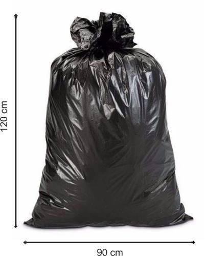 Bolsas Negras Para Basura 40 Kg Calibre 12 Y 14