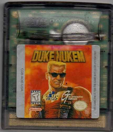 Duke Nukem.gameboy Color. Video Juego Original Usado M5
