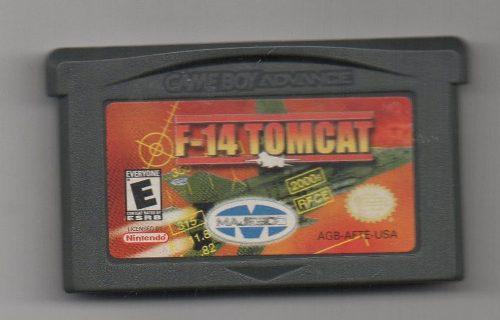 F-14 Tomcat. Game Boy Advance Juego Original Usado. A4