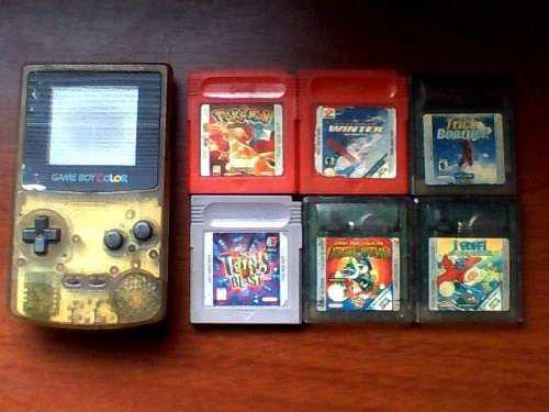 Game Boy Color + 6 Juegos