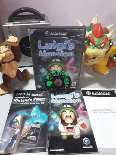 Luigis Mansion Nintendo Gamecube