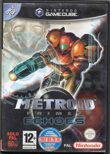 Metroid Prime 2 Echoes. Video Juego Original Usado M5