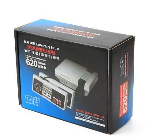 Mini Nintendo Retro 620 Juegos 2 Controles Portatil