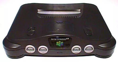 Nintendo 64 Y Adaptador De Corriente