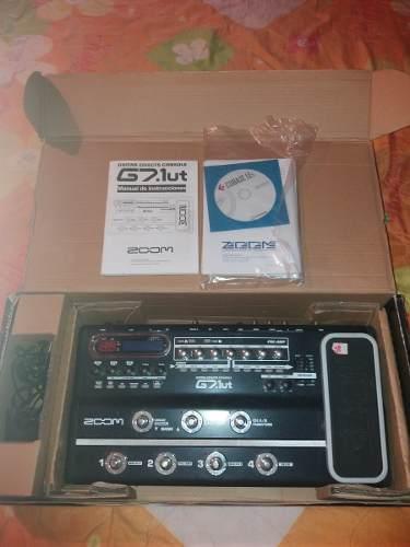 Pedal Efecto Para Guitarra Zoom G7 1ut