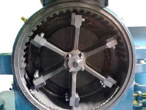 Plano Para Maquina Pulverizadora De Maiz Y Grano-harina