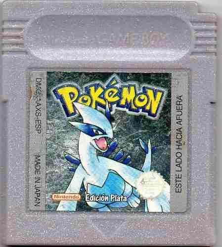 Pokemon Silver Version Edicion Plata.juego Original Usado A4