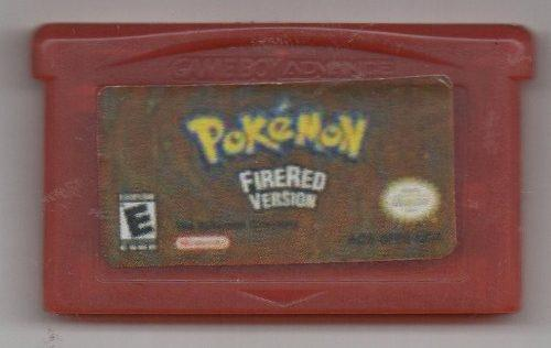 Pokémon Firered Version. Game Boy Advance.juego Original