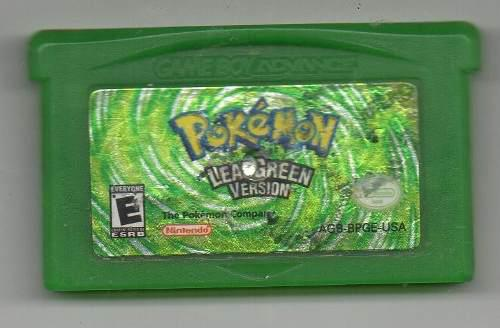 Pokémon Leagreen Version. Game Boy Advance.juego Original