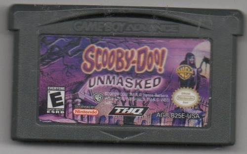 Scooby-doo! Unmasked.game Boy Advance.juego Original Usado