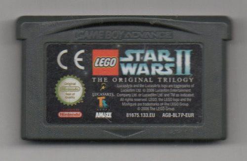 Star Wars Ii. The Original Trilogy.game Boy Advance. Video J