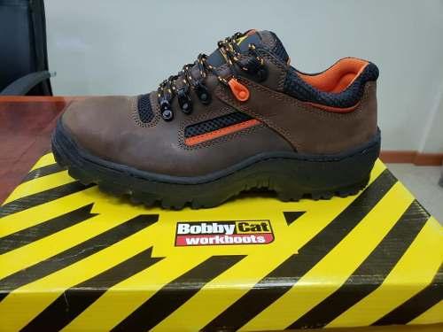 Zapato De Seguridad Industrial Bobby Cat