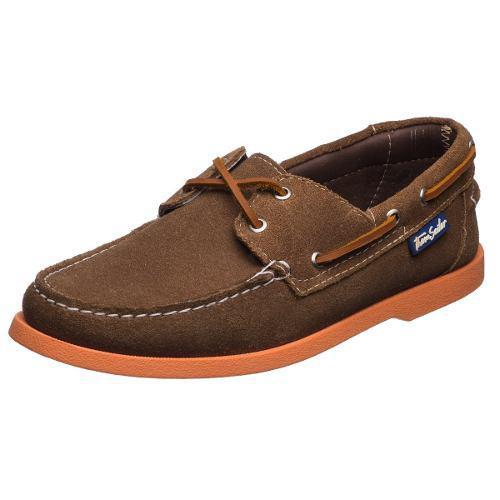 Zapatos Thom Sailor Caballero Nautico Suela De Colores