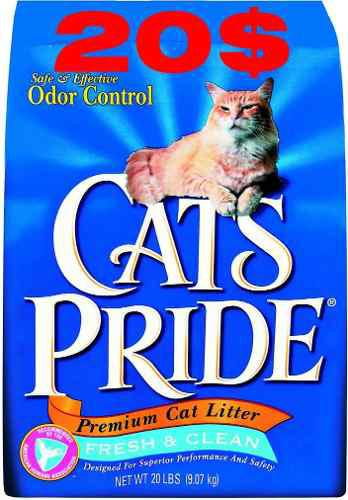 Arena De Gato Cats Pride De 20 Libras