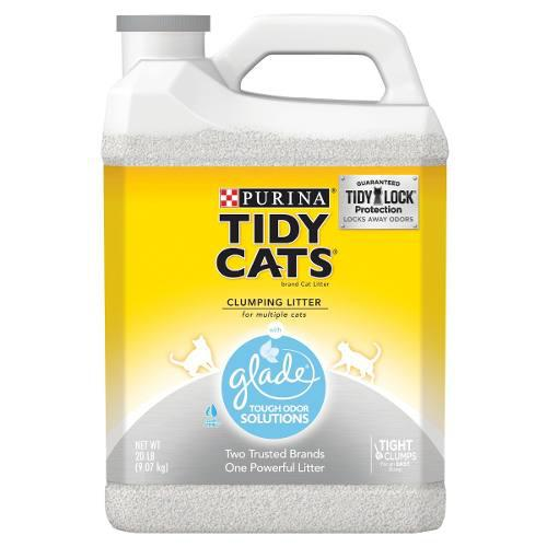 Arena Para Gatos Purina Tidy Cats Con Glade