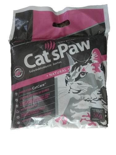 Arena Sanitaria Para Gatos Cat's Paw 5kg