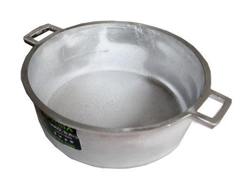 Caldero 20 Cm Aluminio Freir Cocina Chef Olla Paila Sartén