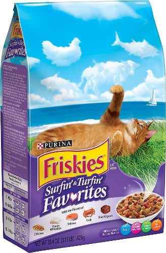 Comida Para Gatos Gatarina Friskies De Purina