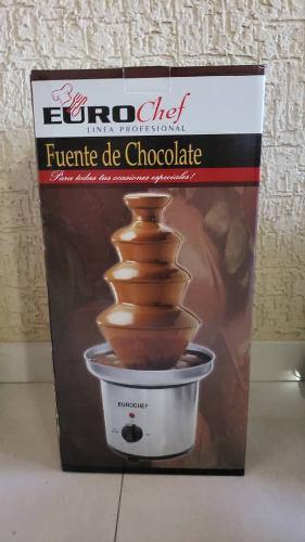 Fuente De Chocolate Euro Chef Nueva