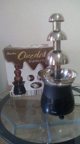 Fuente De Chocolate Y Fuente Coctelera