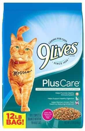Gatarina 9 Lives Plus Care (importada) Saco De 5,45 Kg