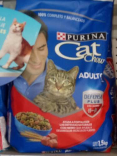 Gatarina Cat Chow Carne De 1.5 Kg.