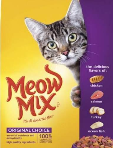 Gatarina Meow Mix De 10 Kilo
