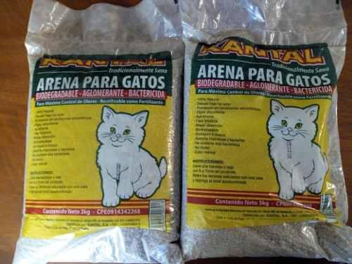Gatos Arena Sanitaria Para Gatos