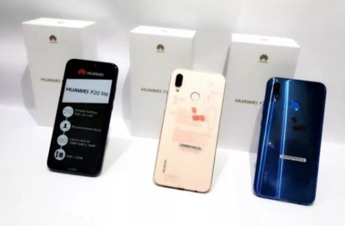 Huawei P20lite 32gb 4gb Ram + Vidrio+forro Somos Tienda!