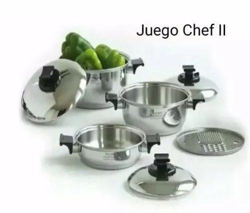 Juego De Ollas Renaware Chef Ii