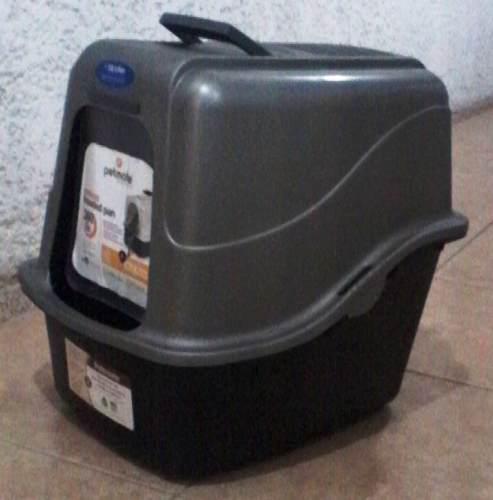 Petmate Caja Arenera Grande Para Gatos (49x39x43)